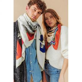 Foulard en laine - KITE