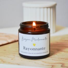 Bougie parfumée - RAYONNANTE