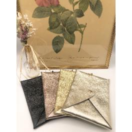 Pochette en cuir - Enveloppe